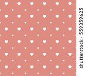 seamless heart pattern... | Shutterstock .eps vector #559359625