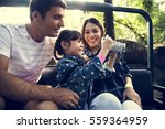 family holiday vacation park... | Shutterstock . vector #559364959
