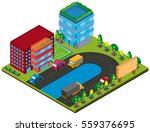 3d design for buildings and... | Shutterstock .eps vector #559376695