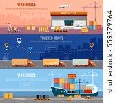 global logistics. cargo...   Shutterstock .eps vector #559379764