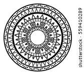 round pattern in the greek... | Shutterstock .eps vector #559410289