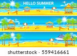 set vector illustration header... | Shutterstock .eps vector #559416661