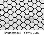 iron sheet showing hexagonal... | Shutterstock . vector #559432681