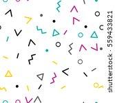 funny geometrical scandinavian... | Shutterstock .eps vector #559433821