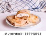 Sweet Pancakes Stuffed Cottage...