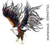 Eagle. Bird Print For Anti...