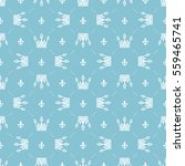 seamless pattern in retro style ... | Shutterstock .eps vector #559465741