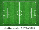 green grass soccer field... | Shutterstock . vector #559468069