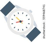 wristwatch vector icon | Shutterstock .eps vector #559468741
