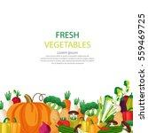 vegetables vector illustration. | Shutterstock .eps vector #559469725