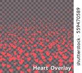 isolated raising heart shapes   ... | Shutterstock .eps vector #559470589