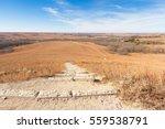 trail cutting through the konza ... | Shutterstock . vector #559538791