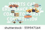 kids cute racing team  vector... | Shutterstock .eps vector #559547164
