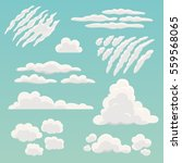 Cartoon Clouds Collection....