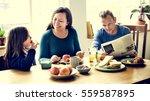 family people feelings... | Shutterstock . vector #559587895