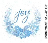 christmas and new year...   Shutterstock .eps vector #559604119