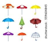 umbrella vector illustration. | Shutterstock .eps vector #559604845