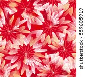 cute seamless pattern with... | Shutterstock .eps vector #559605919