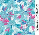 cute seamless pattern with... | Shutterstock .eps vector #559605985