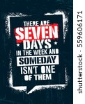 there are seven days in the... | Shutterstock .eps vector #559606171