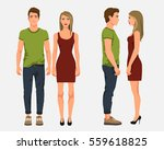 vector illustration of men in... | Shutterstock .eps vector #559618825