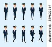 collection set of walking pilot....