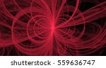 fractal pink loops and vortices | Shutterstock . vector #559636747