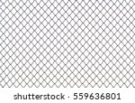 Steel Mesh Isolated On White...