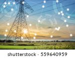 modern and wireless sensor... | Shutterstock . vector #559640959