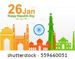 illustration of famous monument ... | Shutterstock .eps vector #559660051