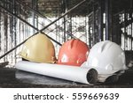 old and worn colorful... | Shutterstock . vector #559669639