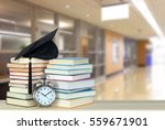 book and campus of university... | Shutterstock . vector #559671901