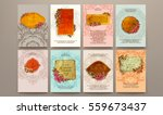 wedding invitation card or... | Shutterstock .eps vector #559673437
