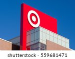 Small photo of MINNEAPOLIS, MN/USA - JANUARY 14, 2017: Target Corporation corporate headquarters and logo. Target is the second-largest discount store retailer in the United States.