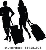 vector silhouette of business...   Shutterstock .eps vector #559681975