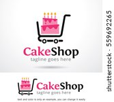 cake shop logo template design... | Shutterstock .eps vector #559692265