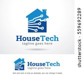 house technology logo template... | Shutterstock .eps vector #559692289