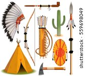 vector indian icons | Shutterstock .eps vector #559698049