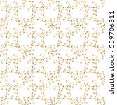seamless vintage pattern on... | Shutterstock . vector #559706311