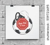 soccer football club. sport... | Shutterstock .eps vector #559721695