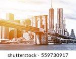 The Manhattan Skyline And...