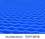 blue waves | Shutterstock . vector #55973878