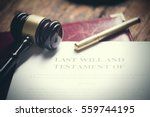 last will testament | Shutterstock . vector #559744195