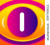 sign with eye icon background   Shutterstock . vector #559745011
