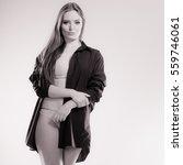 underwear  clothing people... | Shutterstock . vector #559746061
