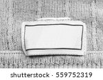 blank white clothes label on...   Shutterstock . vector #559752319