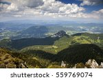 beautiful scenery from top of... | Shutterstock . vector #559769074