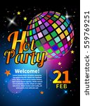 banner for party. flyer for... | Shutterstock .eps vector #559769251