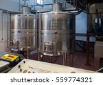 future wine processing in... | Shutterstock . vector #559774321