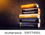 positive emotions and feelings... | Shutterstock . vector #559774501